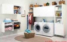 Lưu ý phong thủy trong phòng giặt