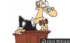 Mơ thấy quan tòa: Người nằm mơ sẽ gặp phải vấn đề lớn