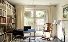 Phòng sách bố trí phù hợp với phong thủy