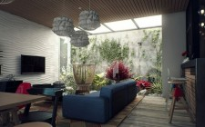 Phong thủy giếng trời trong nhà