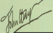 Phong thủy về chữ ký
