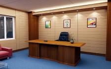 Văn phòng của ông chủ nên đặt ở đâu?