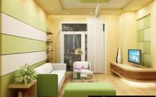 Cách bố trí phương vị màu sắc phòng khách hợp phong thủy