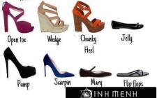 Khám phá ý nghĩa giấc mơ thấy các loại giày dép khác nhau - ngủ nằm mơ mang giày cao gót