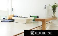 Bài trí nội thất hợp khoa học phong thủy cho căn hộ nhỏ