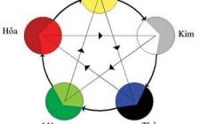 Cách phối màu theo không gian và theo ngũ hành mệnh trạch