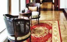 Chọn hoa văn thảm trải phòng khách đem lại may mắn