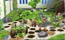 khoa học phong thủy tốt cho khu vườn