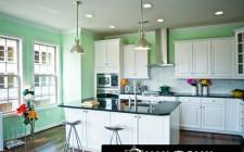 Màu sắc phòng bếp đem lại sức khỏe và thịnh vượng