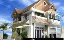 Sự cân bằng âm dương giữa mặt tiền và mặt hậu ngôi nhà