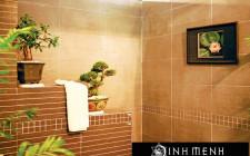 Tránh đặt phòng tắm ngay giữa nhà