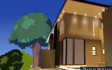 Ánh sáng đèn bên ngoài căn nhà có ảnh hưởng đến phong thủy không?