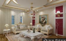 Có nên trang trí trần phòng khách không? Tại sao?