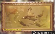 Phong thủy Tranh đồng món quà độc đáo và nhiều ý nghĩa trong dịp tết