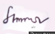 Xem tính cách con người qua kiểu chữ ký